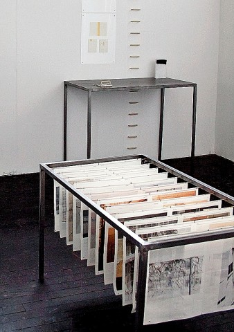 'Archive & Handle Installation' View I (2012)