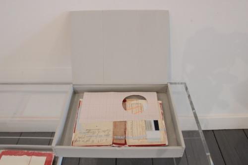 Untitled (book series 1) (2012) mixed media (0.05 x 0.31 x 0.23m)