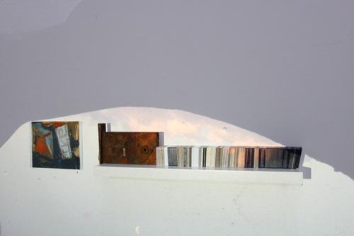 Shelf (2011) Mixed media (0.2 x 1.5m)